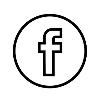 line drawing of fb logo vector line drawing