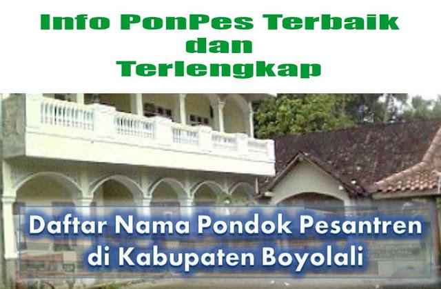 Pesantren di Boyolali