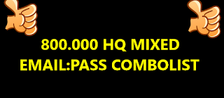 800.000 HQ MIXED EMAIL:PASS COMBOLIST ( GAMING , STREAMING , SPOTIFY )