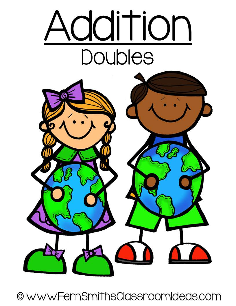 Earth Day - Addition Doubles Center Game