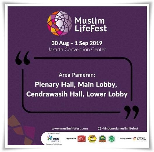Indonesia Muslim Lifestyle Festival diselenggarakan di JCC