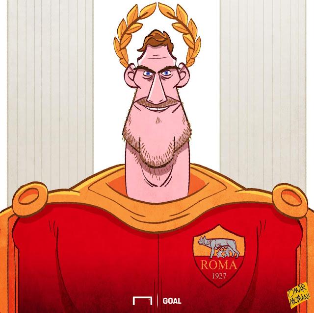 Francesco Totti illustration