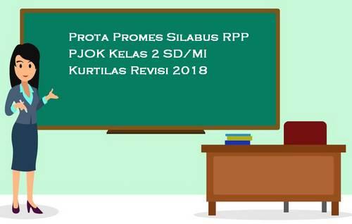 Prota Promes Silabus RPP PJOK Kelas 1 SD/MI Kurtilas Revisi 2018