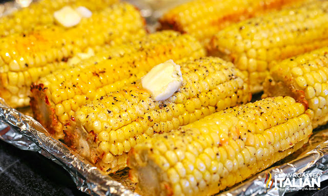 Best Ever Oven Roasted Corn