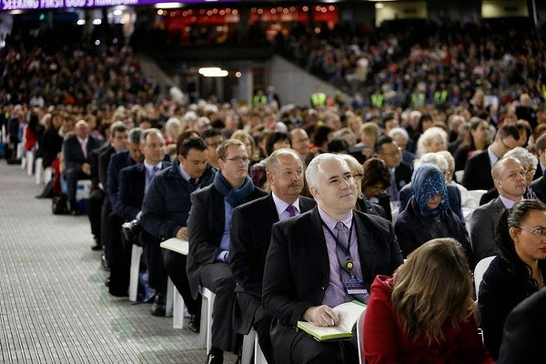 World Jehovah's Witness convention in Melbourne