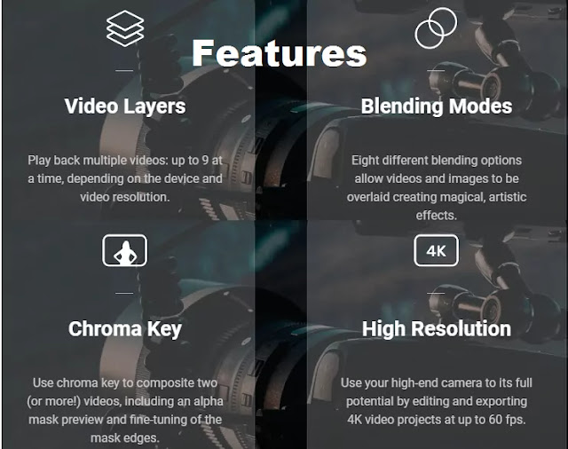 kinemaster pro apk features