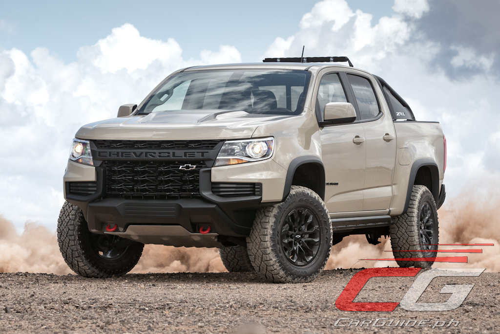 The 2021 Chevrolet Colorado S Front End Is Basically All Grille