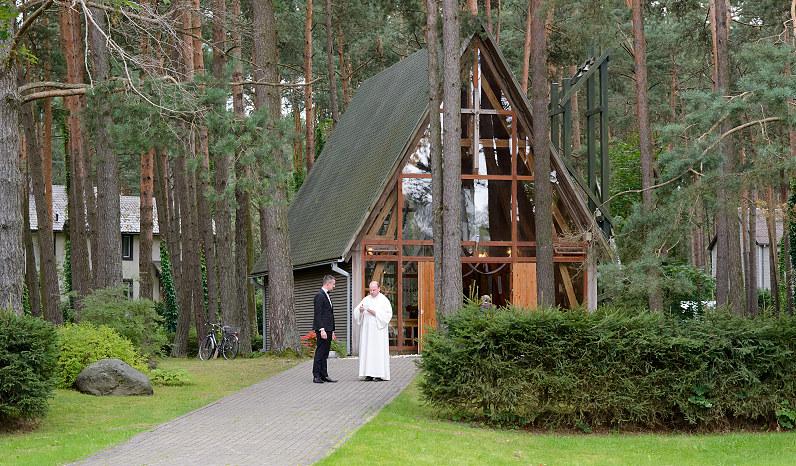 šventos Onos koplyčia Kačerginėje