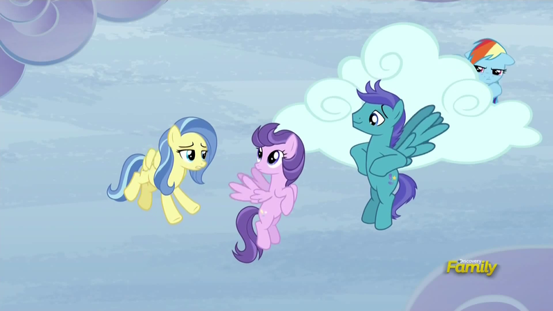 "The ""Open Skies"" scene background ponies"
