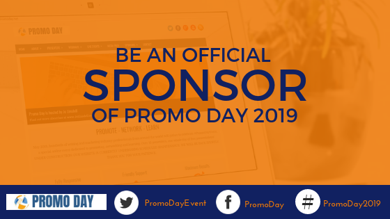 Be an official sponsor of #PromoDay2019