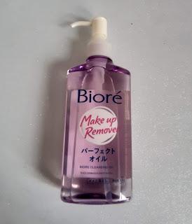 resenha oleo demaquilante biore cleansing oil  dicas da tia