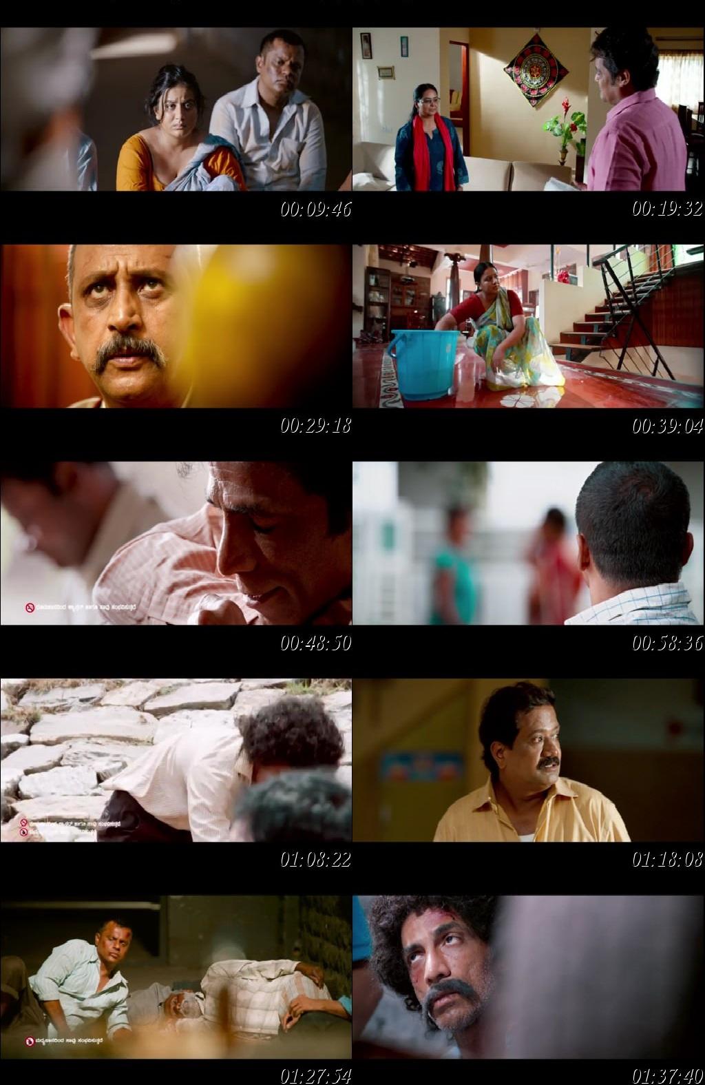 Screen Shot Of Tollywood Movie Dandupalya 3 2018 Full Movie In Hindi Dubbed Free download 720P HD