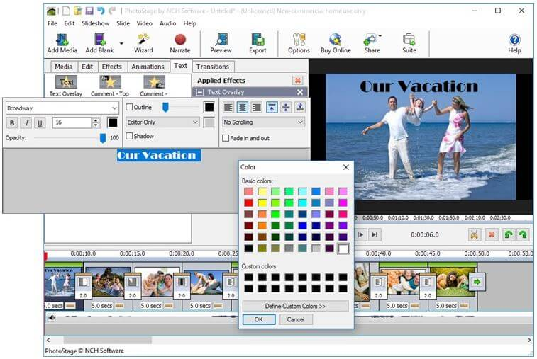 برنامج, عمل, عروض, شرائح, الفيديو, لتحويل, الصور, الى, فيديو, (سلايد), مع, موسيقى, PhotoStage