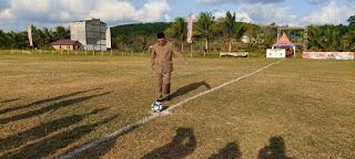 Sayed Jafar Resmi Buka Turnamen Sepakbola PLB