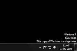 Cara Menghilangkan Windows is Not Genuine 100% Work   Windows 7, Vista & 10