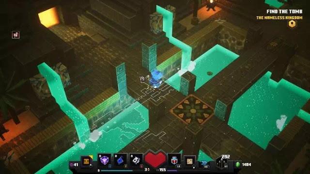 Cara Membuka Level Rahasia Lower Temple di Minecraft Dungeons-2