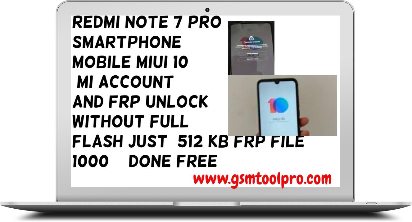 Redmi Note 5 Pro Miui 10 Mi Account Remove Umt — TTCT