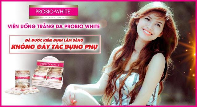 Thành phần chính trong viên uống Probio White