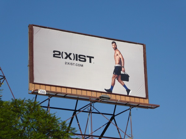 2xist FW16 shorts billboard