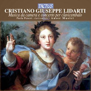 Christian Joseph Lidarti (1730-1795) - Musica da camera e concerto per clavicembalo