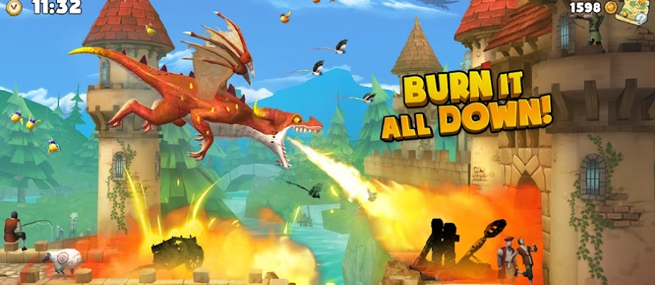 Download Hungry Dragon Mod Apk | Unlimited Money