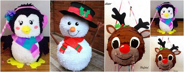 piñatas-navideñas