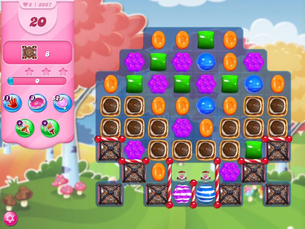 Candy Crush Saga level 3927