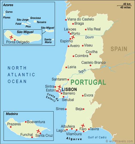 Geografi Negara Portugal