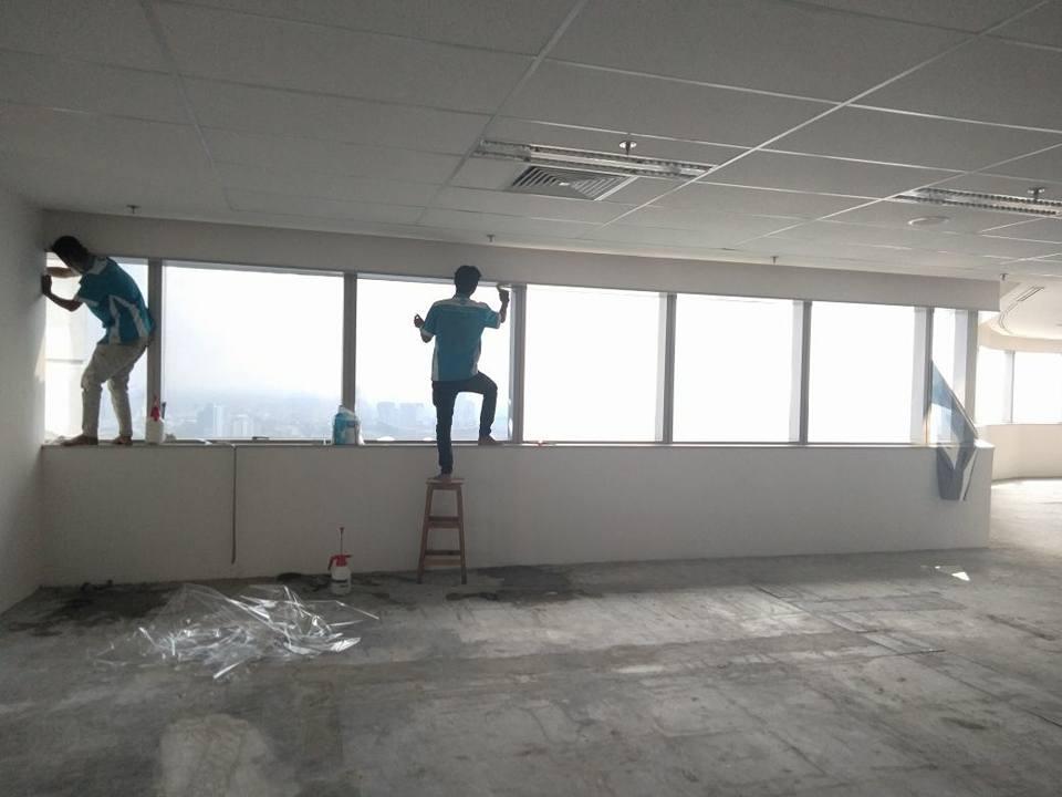 pasang kaca film kantor Neglasari Tangerang