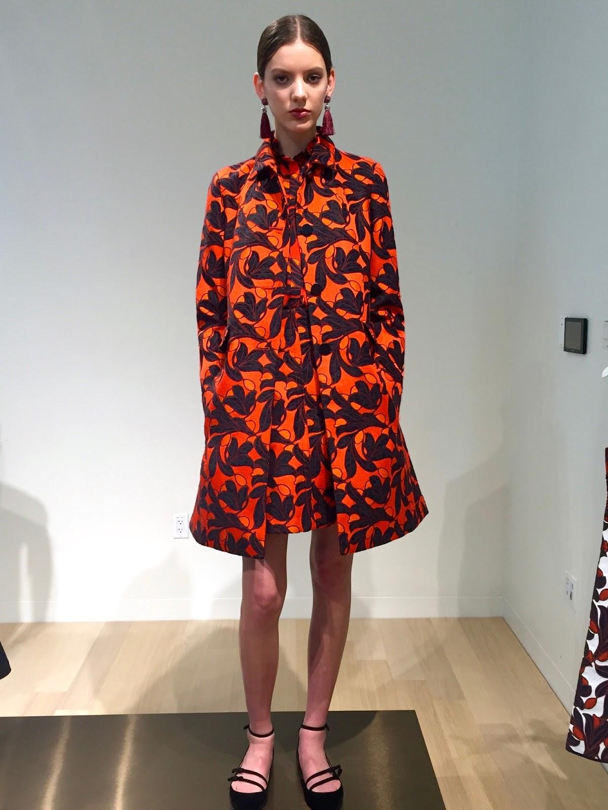 ann taylor printed coat