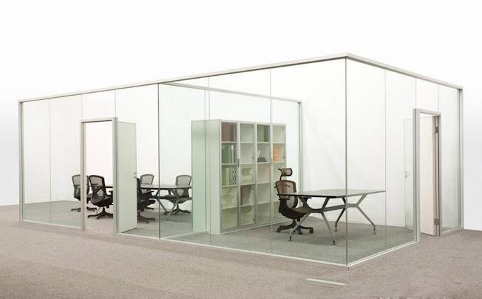 Vì sao nên lựa chọn vách kính cường lực showroom?