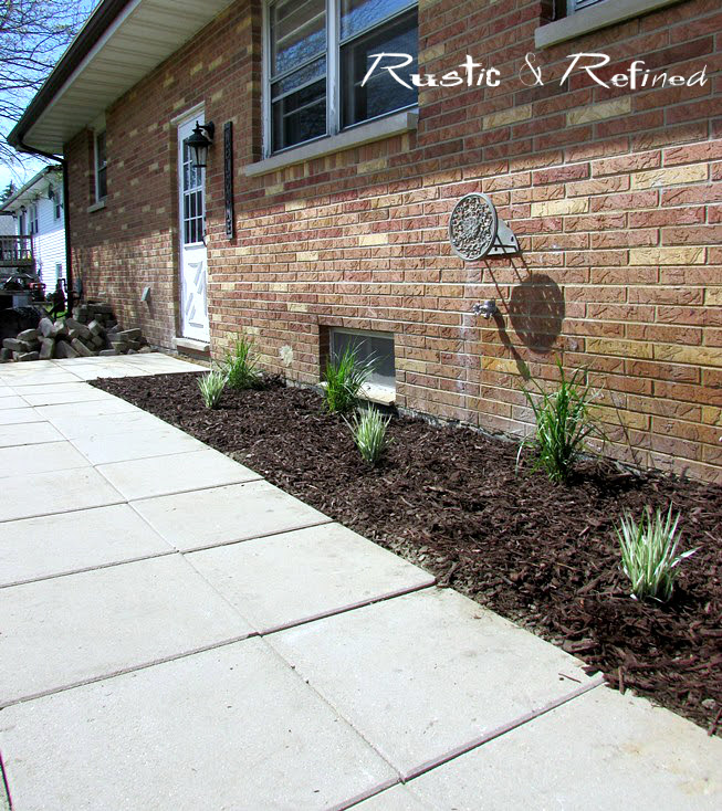 DIY Patio sidewalk ideas