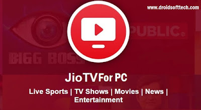 Jio Tv For PC Windows