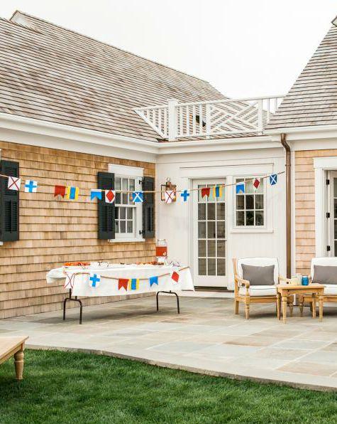 Nautical Backyard Party