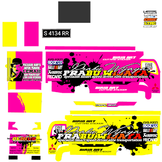 Download Livery Truck Parabu wijaya