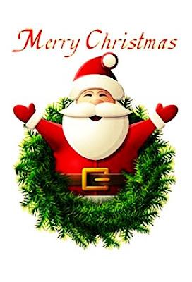 santa merry christmas top Images