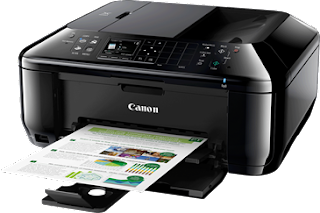 is a dwelling menage business office printer alongside style to tally Canon Pixma Mx526 Driver Download