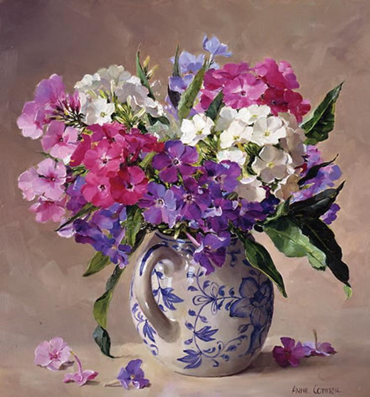 pinturas con jarrones florales lindas flores en pintura variedad en estilos y colores de flores pintadas jarrones con flores pintadas
