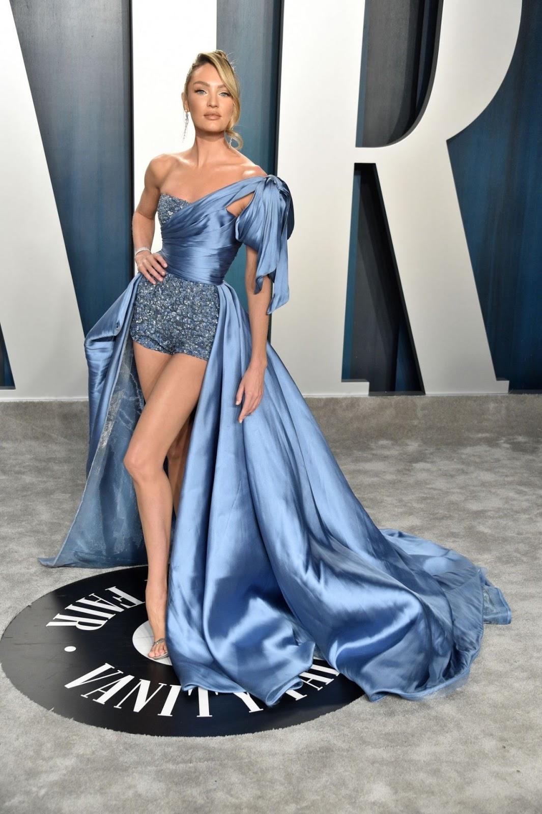 Candice Swanepoel - Vanity Fair Oscar Party in Los Angeles