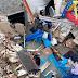 Una piscina hinchable provoca el derrumbe de una terraza en Elda con un joven de 17 años herido leve