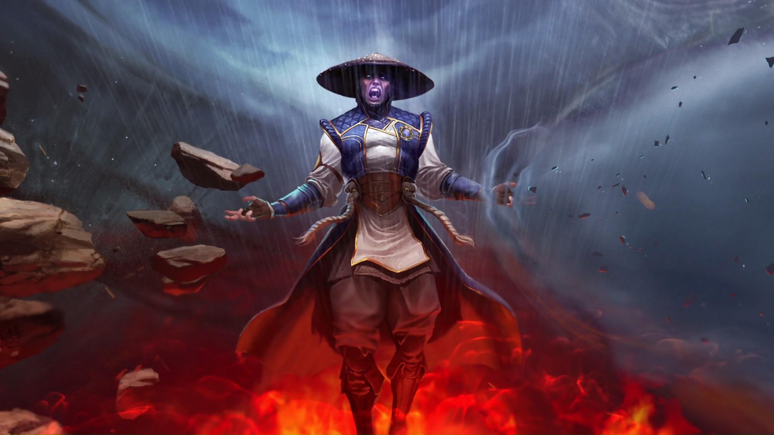 Raiden Mortal Kombat 11 4k Wallpaper 157