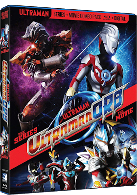 Cover art for Mill Creek's ULTRAMAN ORB: THE COMPLETE SERIES + MOVIE!