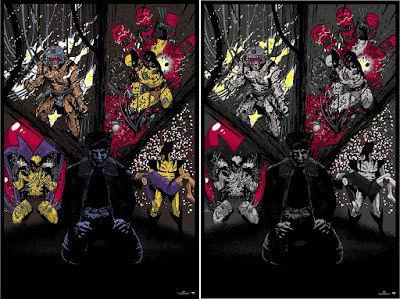 """Wolverine Reflections"" Marvel Screen Print by Raid71 x Upper Deck"