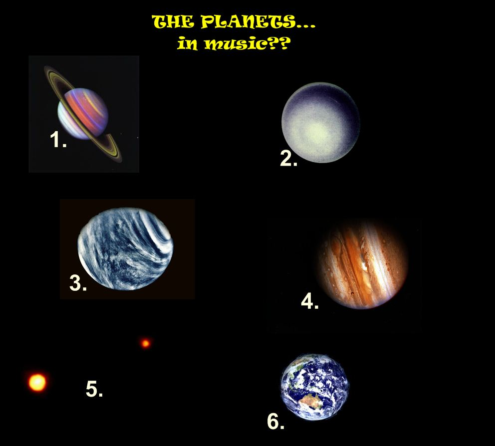 all of the planets named - photo #12