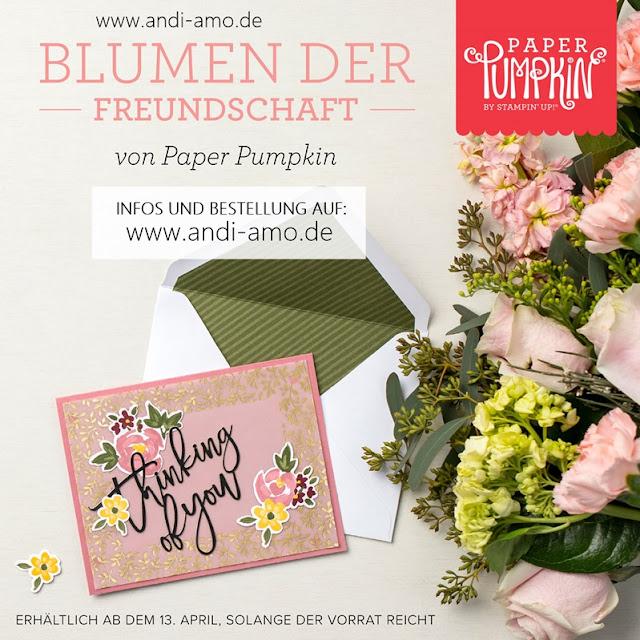 Paper Pumpkin Set Blumen der Freundschaft Stampin Up