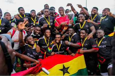 Ghana win first major trophy in Rugby