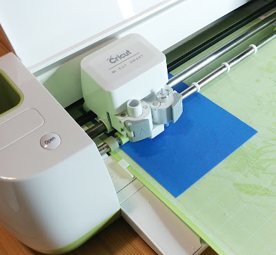 Using a Cricut Explore Air to cut fabric