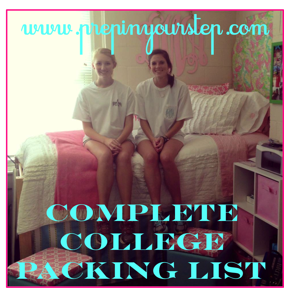 Prep In Your Step The Complete College Packing Checklist