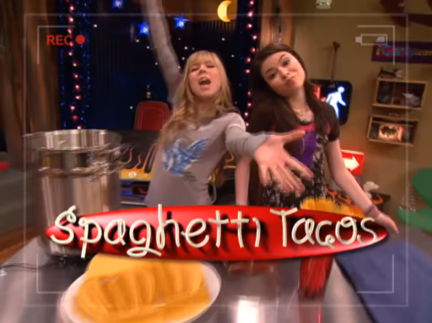 Nickalive Icarly Spaghetti Tacos Recipe How To Make The Unique Creation
