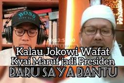 Tengku Zul: Kalau Jokowi Wafat
